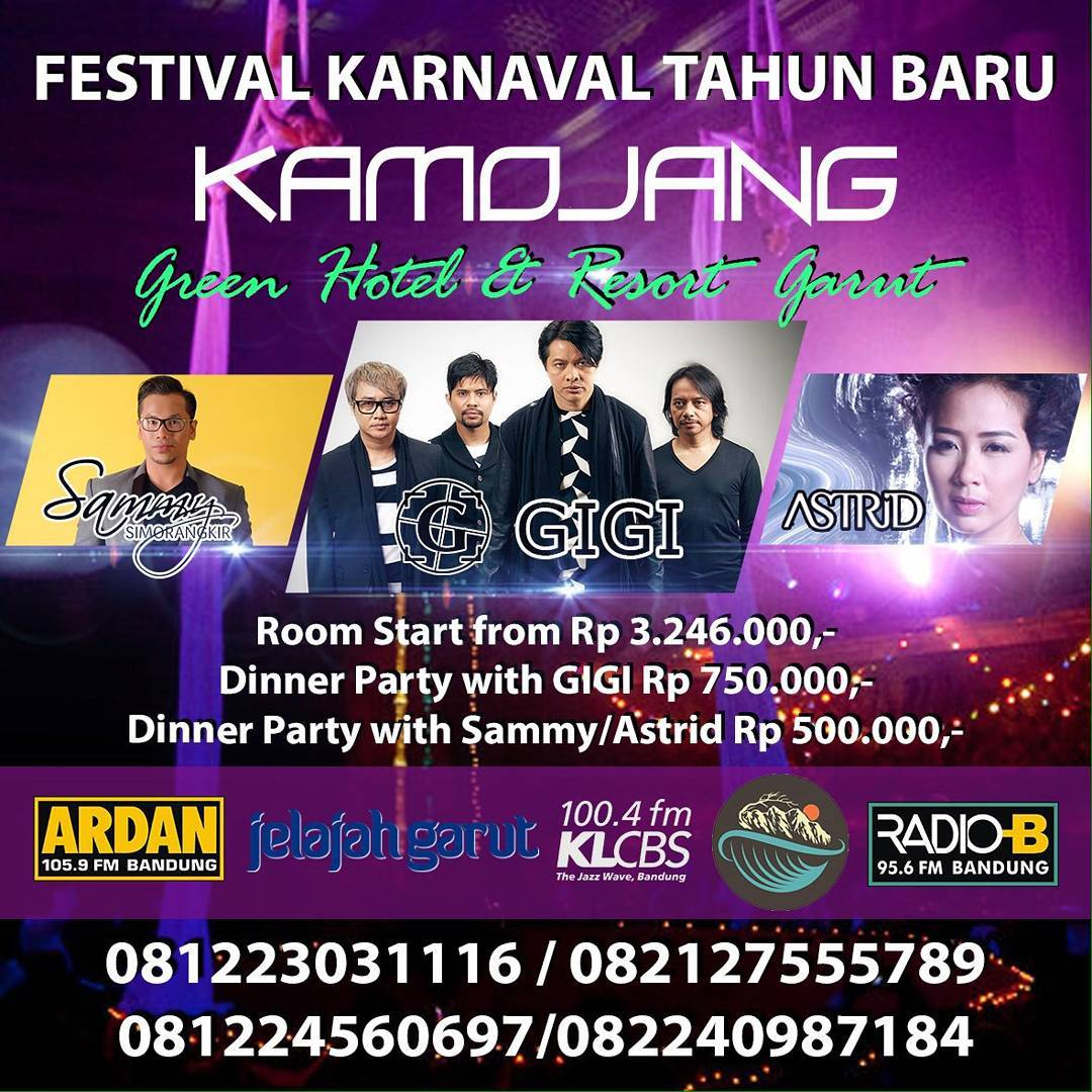 Festival Karnaval Tahun Baru Kamojang Green Hotel and Resort