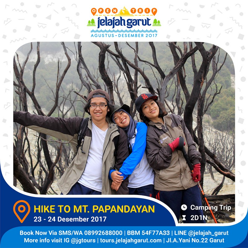 Open Trip Hiking Papandayan 23-24 Desember 2017