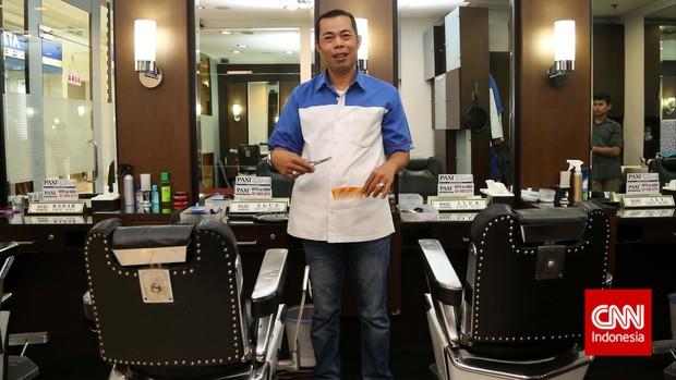 tukang cukur asal Garut