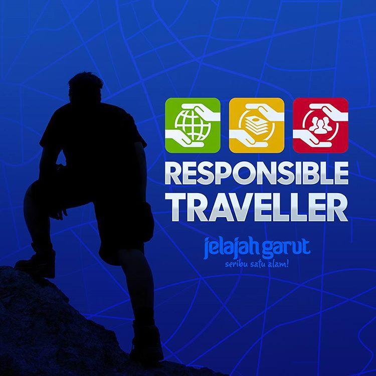 Responsible Traveller : Kampanye menuju Sustainable Tourism, salah satu misi sosial dan lingkungan dari Jelajah Garut