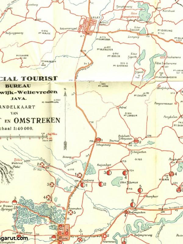 Garoet Tempo Doeloe: Rute Jalan-jalan Menjelajahi Garut di Tahun 1924