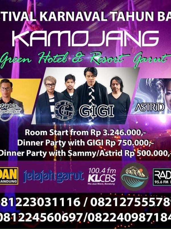 Festival Karnaval Tahun Baru Kamojang Green Hotel and Resort