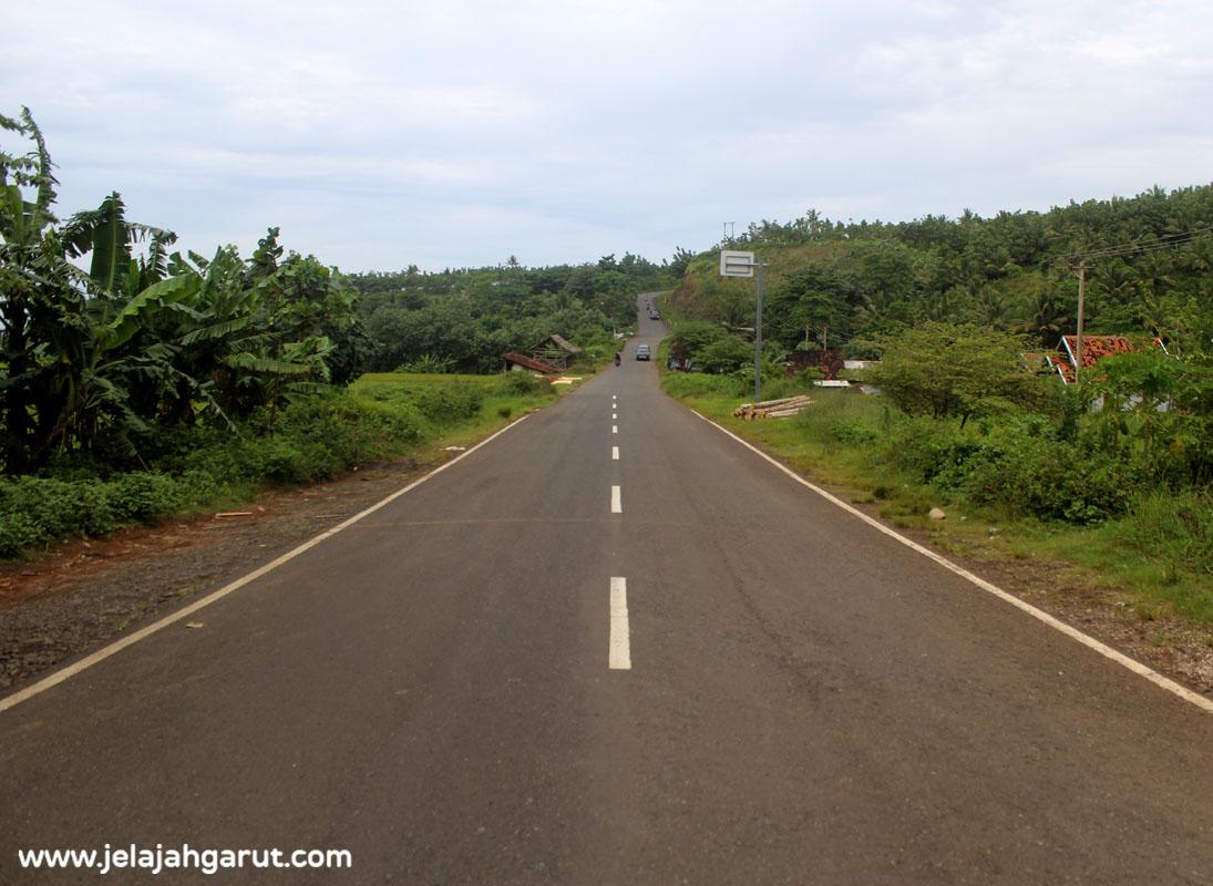 Akses Menuju Kawasan Wisata Rancabuaya Via Garut Pameungpeuk